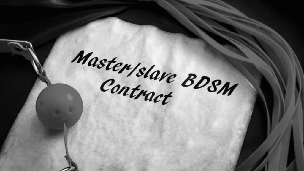 Contrat BDSM